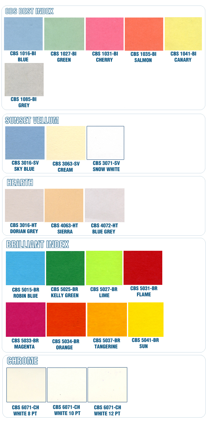 Color chart paper executive nvjuhfo Gallery